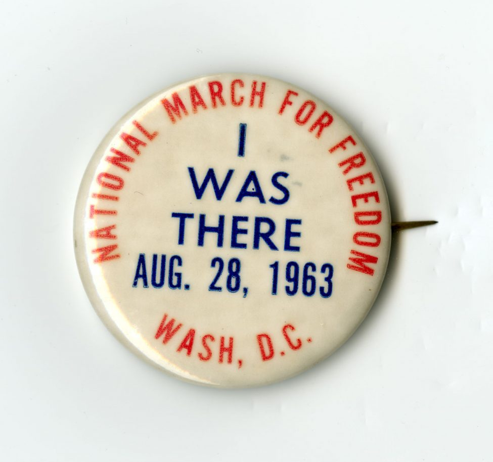 "National March for Freedom ""I Was There"" Button"