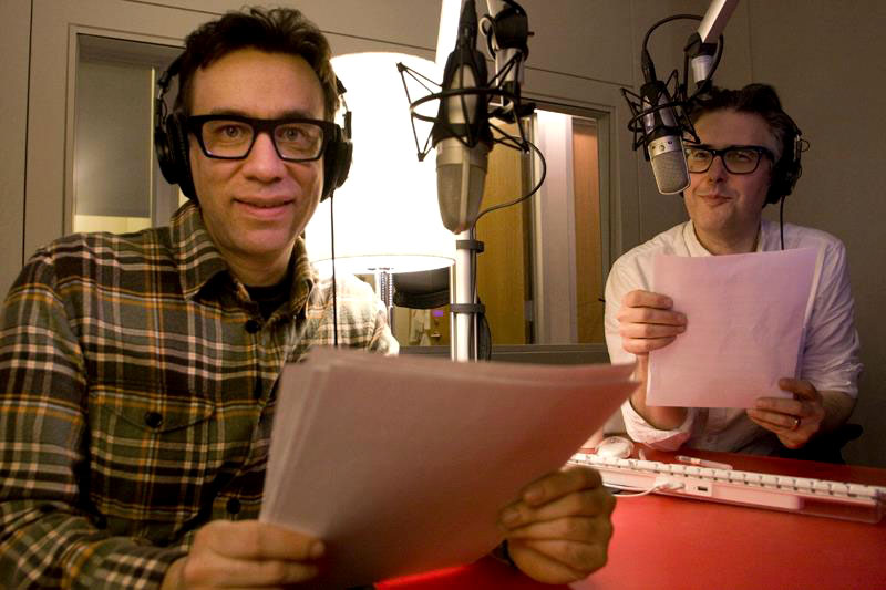 Fred Armisen of SNL and Portlandia does his best Ira Glass impression on an episode of This American Life. Photo from thisamericanlife.org