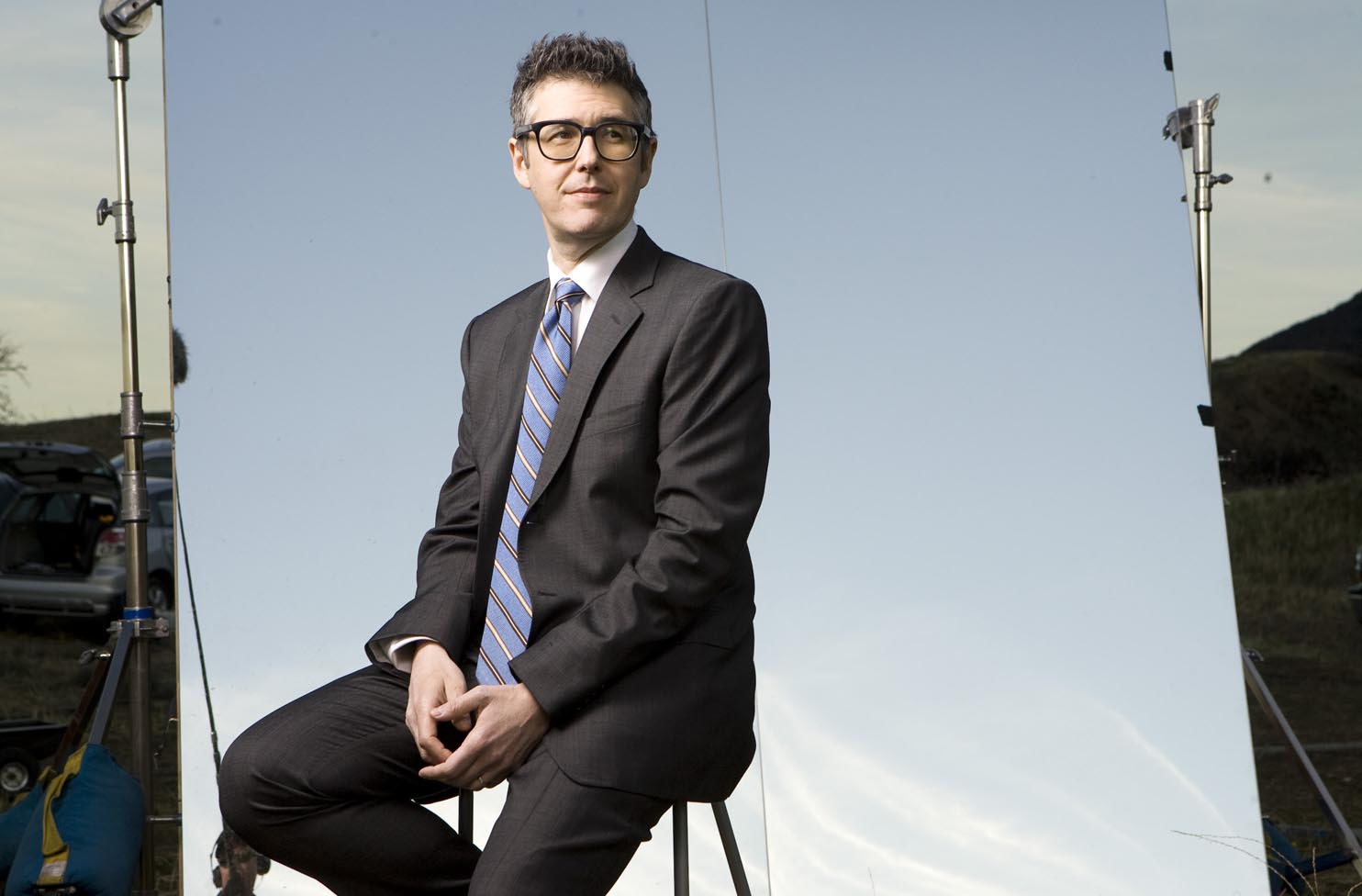 """Ira Glass, host of """"This American Life."""" Photo via Style Weekly."""