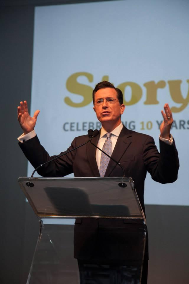 Comedian Stephen Colbert hosts StoryCorps Gala.