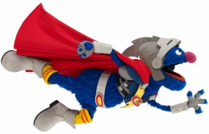 Super Grover was added to the cast to spark kid's interest in math and science.