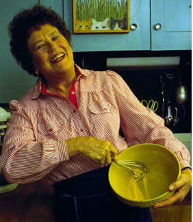 Julia Child Bakes