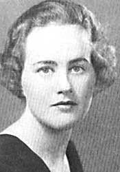Julia McWilliams, from the1934 Smith College Yearbook.