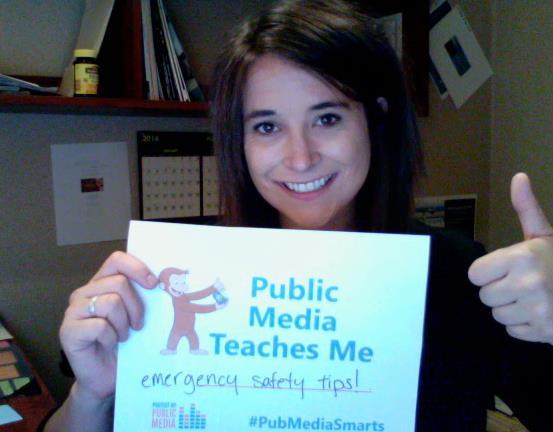 Public media teaches me emergency safety tips!