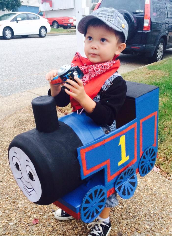 Thomas the Tank Engine Halloween Costume