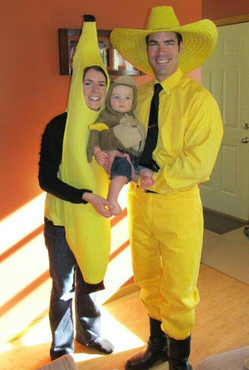 Curious George Family Halloween Costumes
