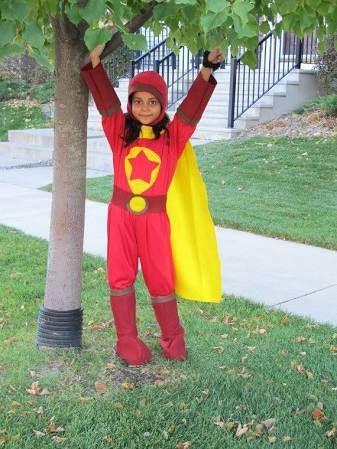 Word Girl Halloween Costume