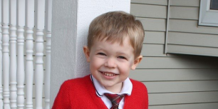 Wisconsin mom, Kristin, submitted this adorable picture of her son dressed like Mister Rogers.