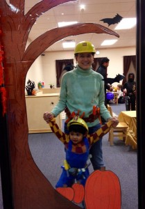 Bob the Builder and Wendy Public Media Halloween Costumes