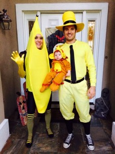 Curious George and the Man in the Yellow Hat Public Media Halloween Costumes