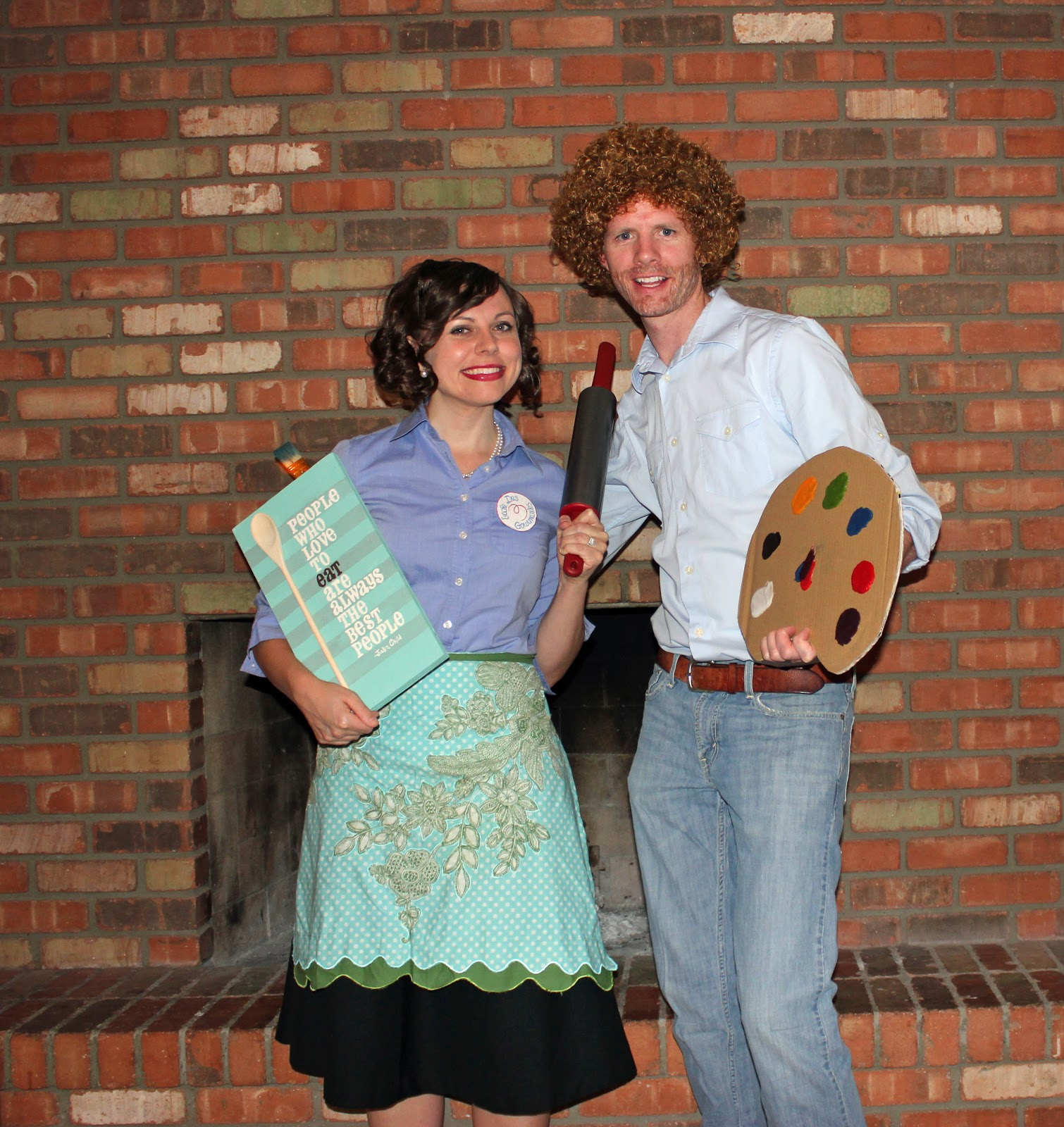 Julia Child and Bob Ross Public Media Halloween Costumes  sc 1 st  Protect My Public Media & 25 Brilliant Public Television Halloween Costumes - Protect My ...