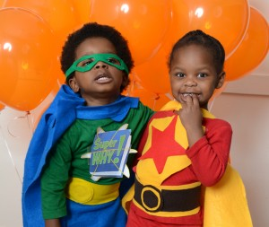 super why and wordgirl Public Media Halloween Costumes