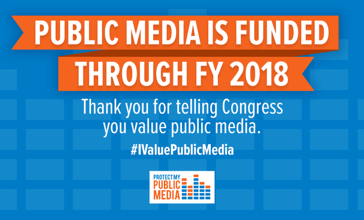 Public Media Funded FY 2018